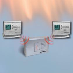 Q5RF - multi-zonski prijemnik sa 2 bežična termostata