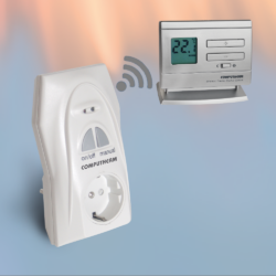 Q1RX bežični utikač-prijemnik sa Q5RF(TX) bežičnim termostatom
