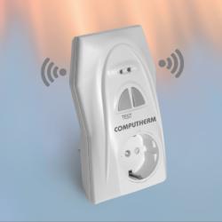 Q2RF utikač-pojačivač radio frekvencijskog signala termostata i prijemnika