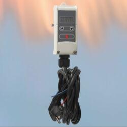 Nalijegajući cijevni termostat/regulator pumpe s kontaktnim senzorom WPR-100GD
