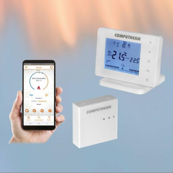 Wifi termostat E400RF Computherm sa bežičnim prijemnikom